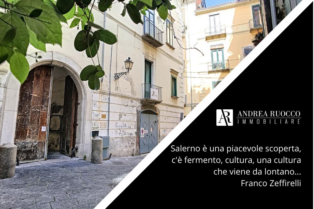 Quartiere Salerno con citazione di Franco Zeffirelli