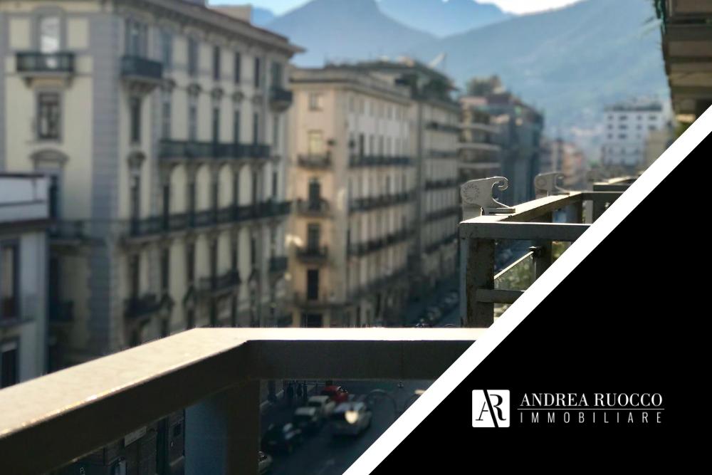 Salerno centro vista dai balconi