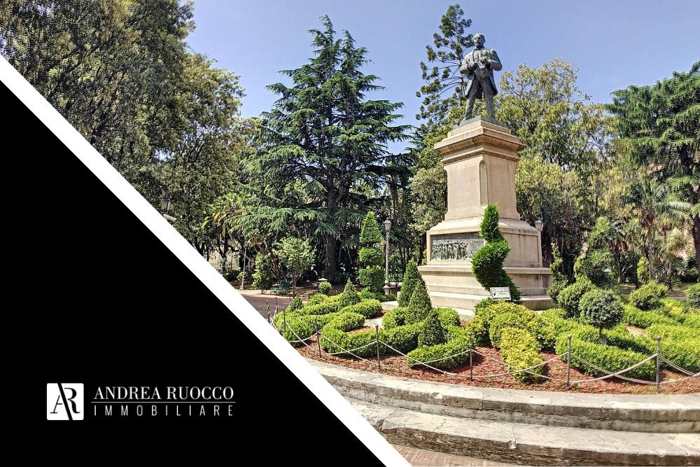 Villa comunicale giardini nel centro di Salerno